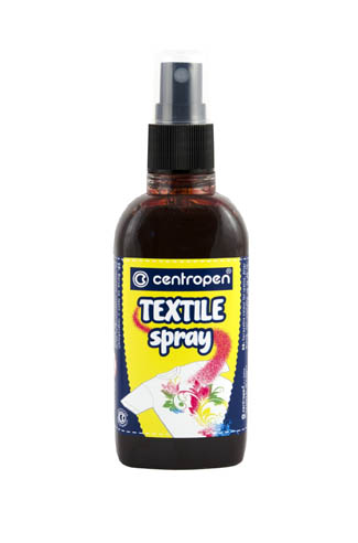 TEXTILE SPRAY 1139 Centropen - hnědá