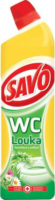 SAVO WC gel - Louka / 750 ml