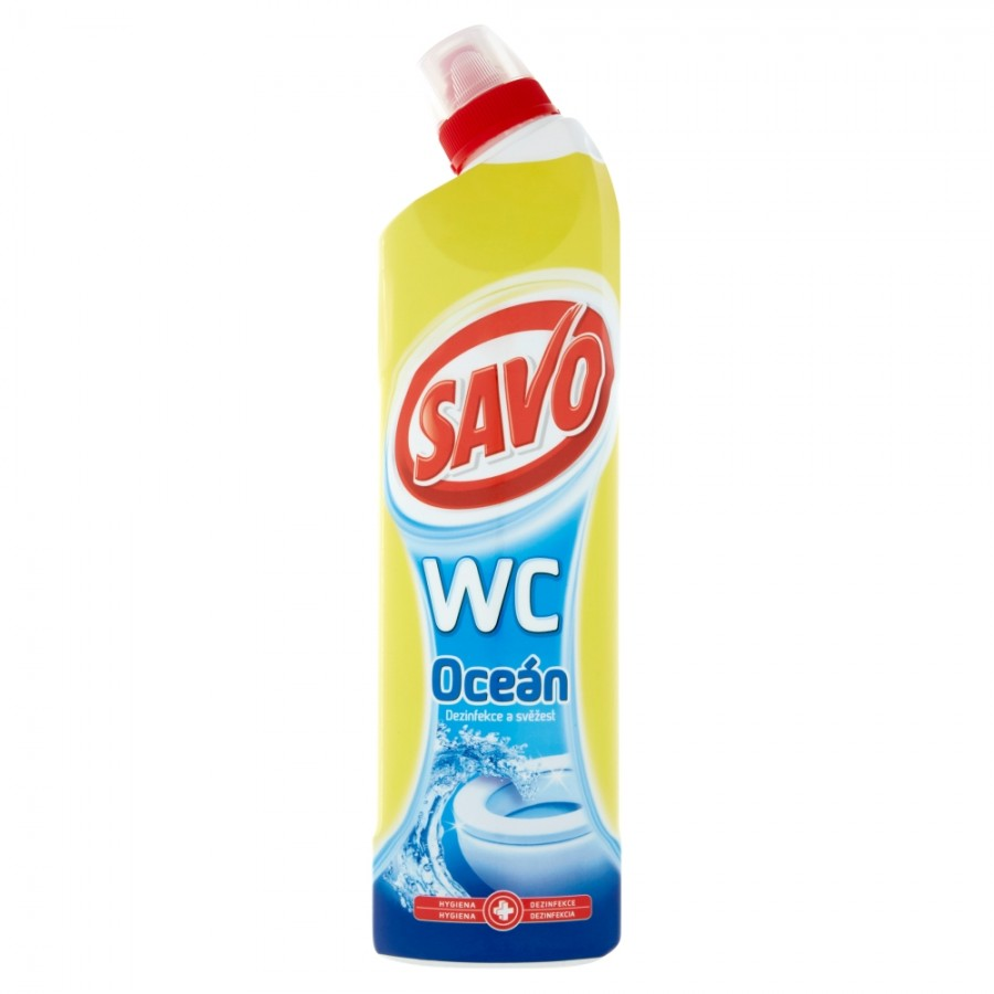 SAVO WC gel - Oceán / 750 ml